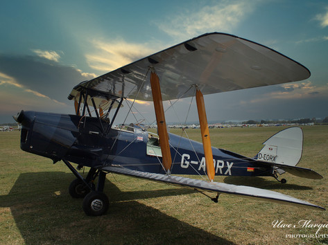 De-Havilland  DH-82A Tiger Moth