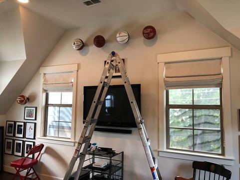 Art and Ball mount installation