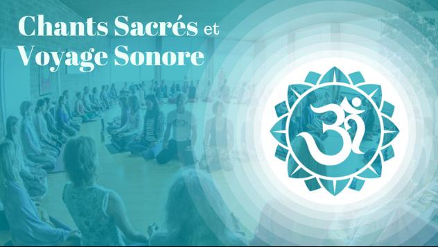 Chants Sacrés et Voyage sonore avec Harmonie-Son a Ste-Adèle 19 avril