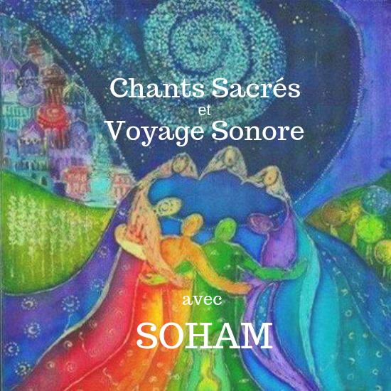 Chants sacrés et voyage sonore a Ste-Adèle. Avec SOHAM et MJ Ganesh