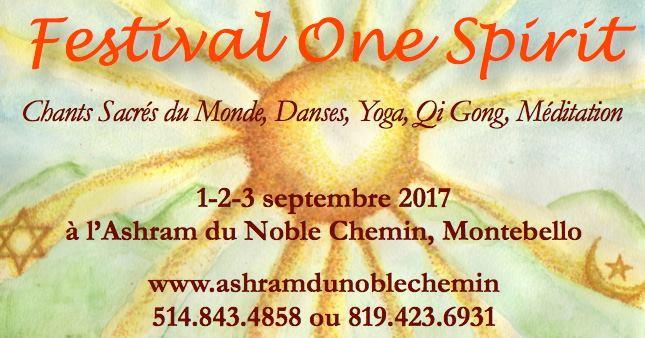 Bain de Sons : Festival One Spirit