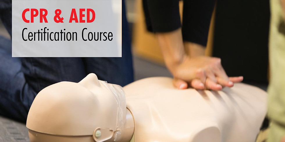 CPR & AED Certified Course