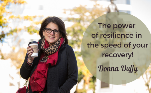 The Power of Resilience is in the Speed of your Recovery: GET BACK UP!