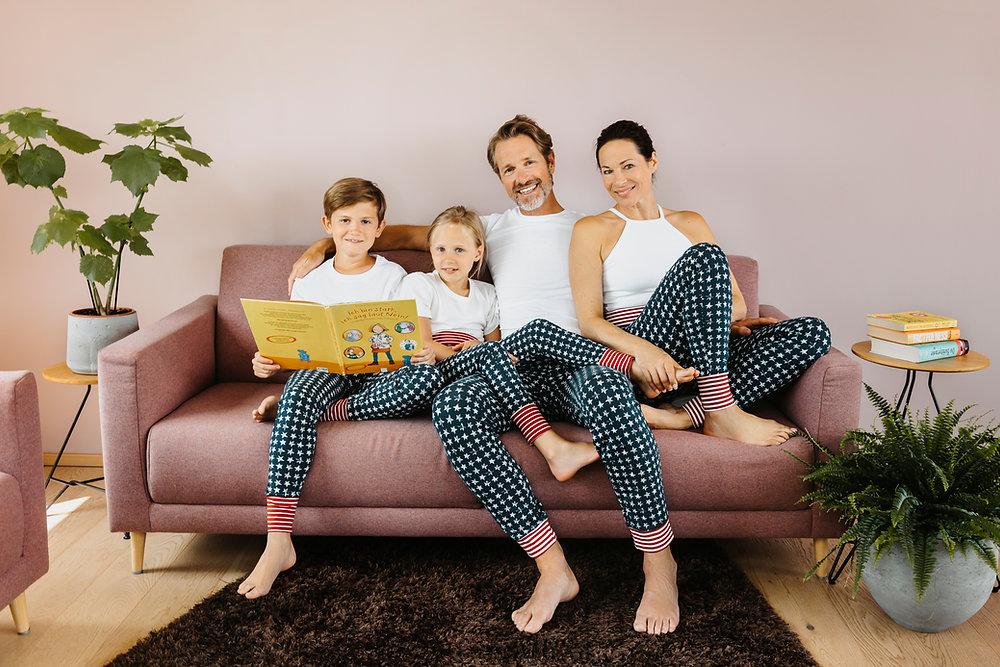 Die Bio Pyjamahose für die ganze Familie