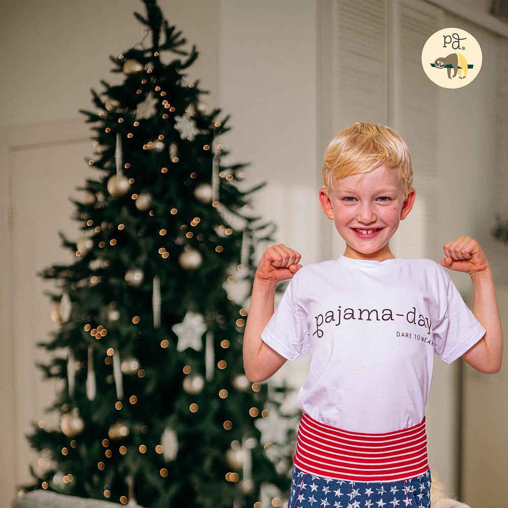 Weihnachten nachhaltig gestalten Pajama-day Blog