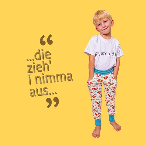 Bequeme Kinder-Pyjamas nachhaltig fair langlebig neurodermitis