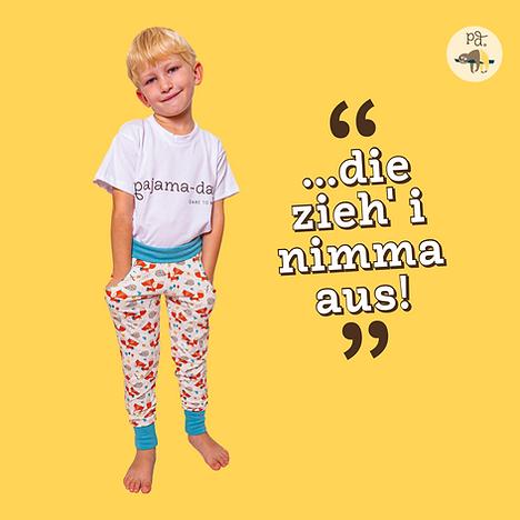 pyjamas für die ganze Familie, besonders für Neurodermitis und Allergiker geeignet