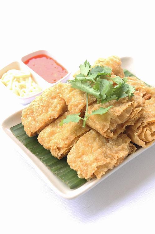 Crispy Taukee with Fish Paste