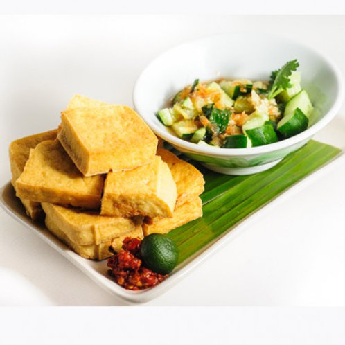 Fried Tofu and Pickles