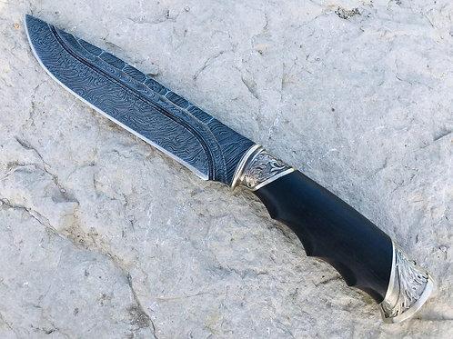 """Нож ручной работы """"Тур-каменный век"""""""