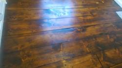 Vintage pine floor