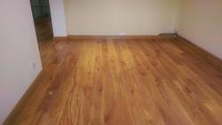 New natural oak floor