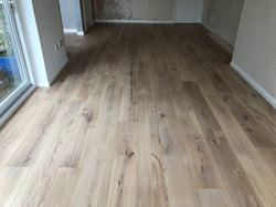 Prefinished engineered oak floor