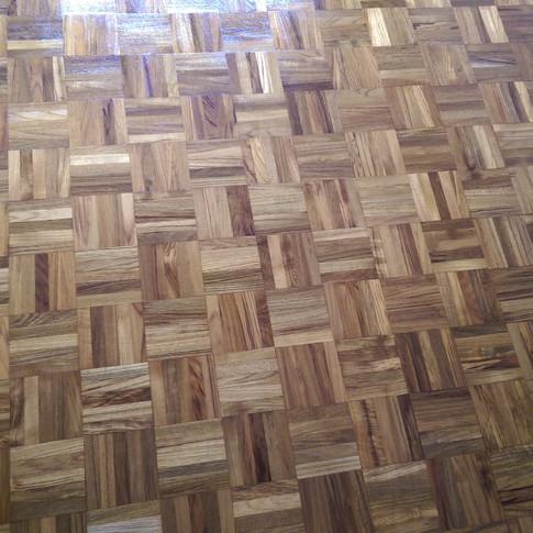 Mosaic parquet floor