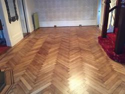 Original oak flooring