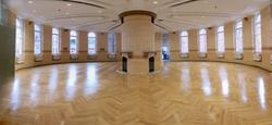 Univerity parquet floor installation