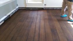 400 years old oak floor