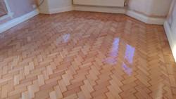 Colombian pine floor