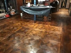 Oak restaurant floor