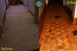 Bespoke oak flooring