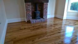 Oak rustic boards