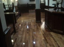 Pub flooring restoration