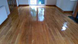 Old refreshed oak floor