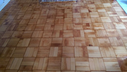 Colombian pin mosaic parquet
