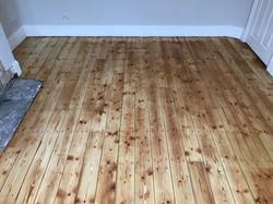 Hardwax oiled floorboards