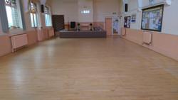 Maple church flooring
