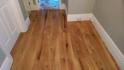 Custom oak flooring