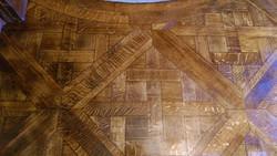 Oak parquetry flooring