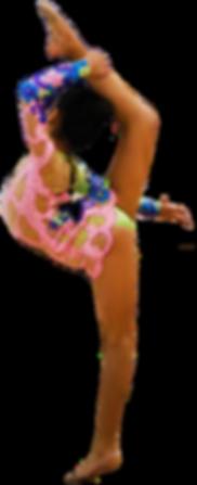 Ring balance rhythmic gymnastics