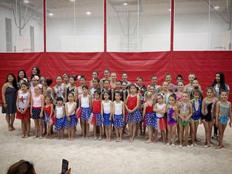 TC Rhythmics Rhythmic Gymnastics Queens and Long Island End of the Year Show