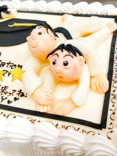 卒業お祝い フルオーダーケーキ