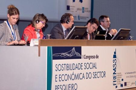 Intervenants Congreso sostenibilida social y economica del sector pesquero