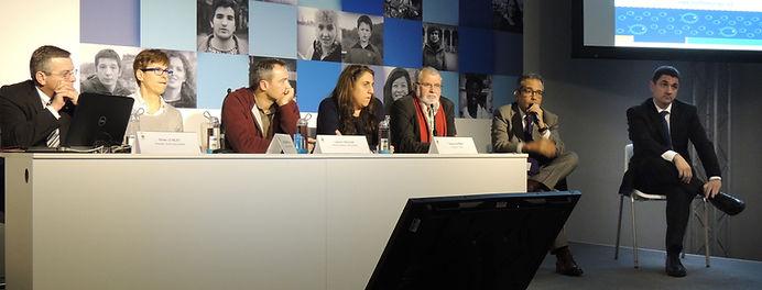 Intervenants conférence pour le climat