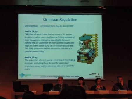 Conférence sur l'obligation de débarquement à Bilbao