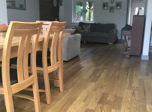 New open plan living project