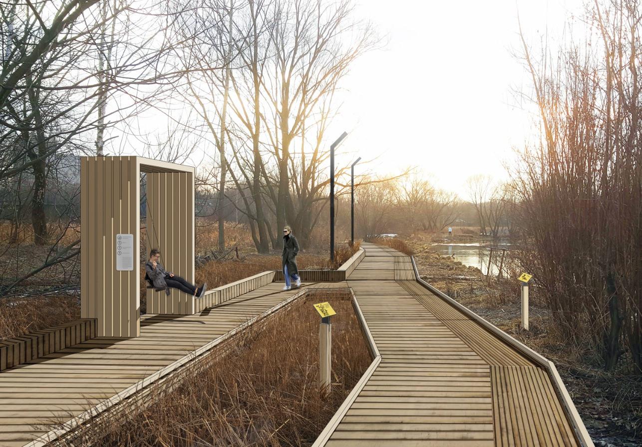 Экологическая тропа вдоль Чукотского проезда. Проект