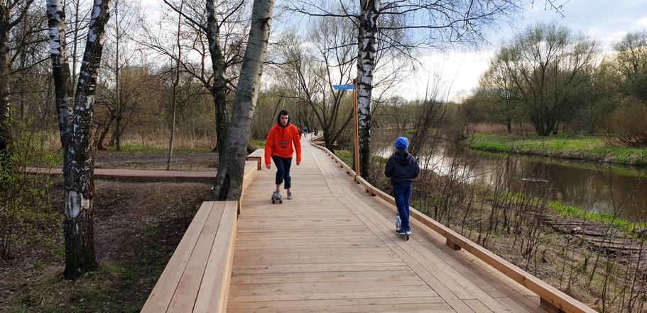 Экологическая тропа вдоль Чукотского проезда. Реализация проекта