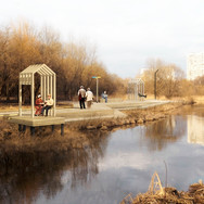 Парк Яуза. Москва ➡