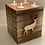 Thumbnail: Extra Large Rustic Stag Head 4 Tealight Holder