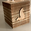 Thumbnail: Extra Large Rustic Wolf 4 Tealight Holder