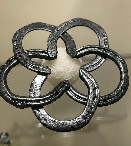 Star of Luck Horseshoe Wreath