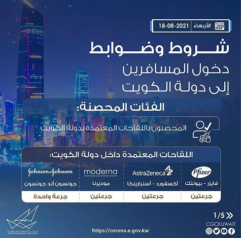 Travel Requirment to Kuwait