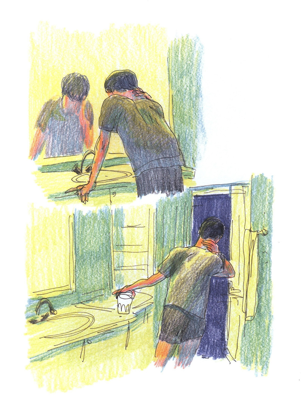 "Романтический комикс об отношениях. ""Бойня"", Бастиен Вивес. Страница 65"