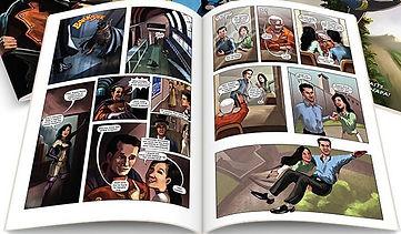 Печать комиксов в виде брошюры