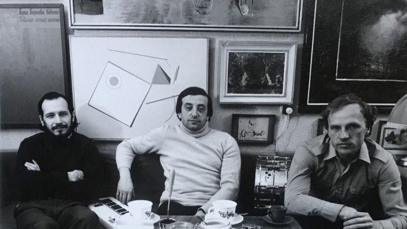 Авангард советского джаза - пианист Вячеслав Ганелин, Владимир Тарасов и саксофонист Владимир Чекасин