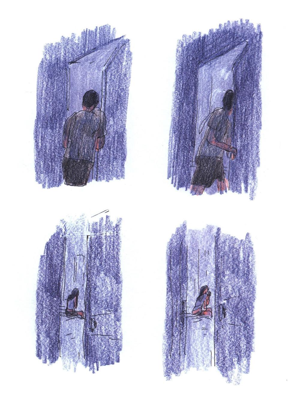 "Романтический комикс об отношениях. ""Бойня"", Бастиен Вивес. Страница 67"